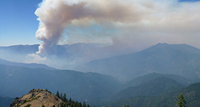 Salmon River Fire Picture