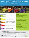 Air Quality Flag Program Poster for Schools thumbnail