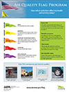 Air Quality Flag Program Poster Business thumnail