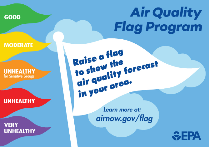 AQI flags and information about flag program