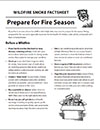 Prepare for Fire Season Cover