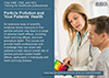 Promotional post card for the Particle Pollution and Your Patients' Health On-line Training Course