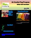 Air Quality Flag Program Newsletter - 2020 Winter Cover