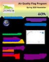 Air Quality Flag Program Newsletter - 2020 Spring Cover
