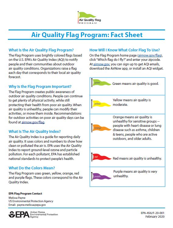 flag fact sheet