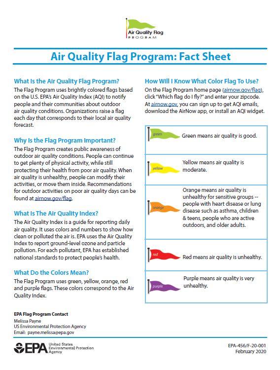 Flag fact sheet