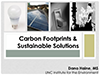Cover Carbon Footprints and Sustainable Solutions