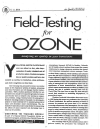 Cover for Field-Testing for Ozone (9-12)