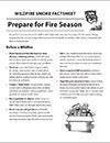 Prepare for Fire Season Cover