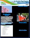 Air Quality Flag Program Newsletter - 2021 Spring Cover Icon