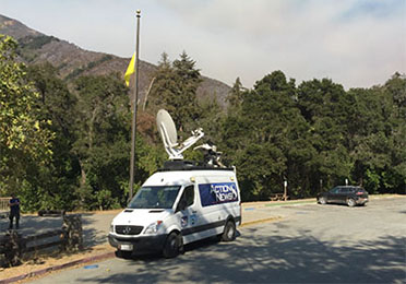 Big Sur Station, CA during the Soberanes Wildfire